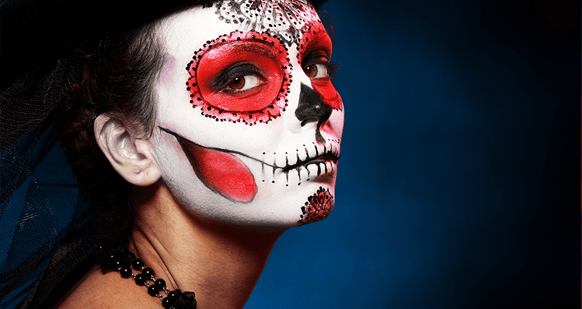 How Bad is Halloween Makeup for Your Skin?